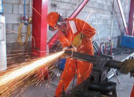 construcción y mantenimiento industrial